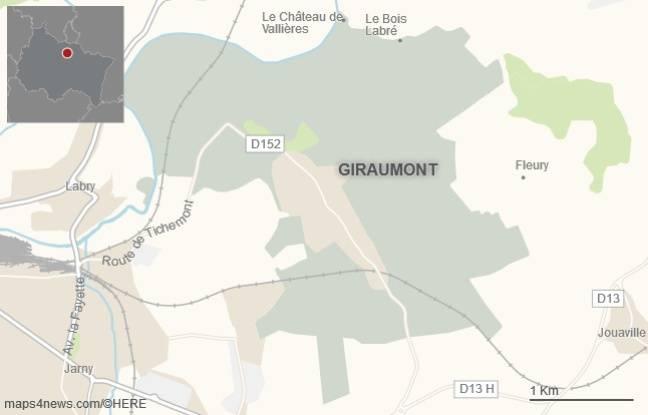La commune de Giraumont, en Meurthe-et-Moselle.
