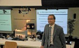 Philippe Rase participait, jeudi à GEM, à l'assemblée générale du réseau France angels.
