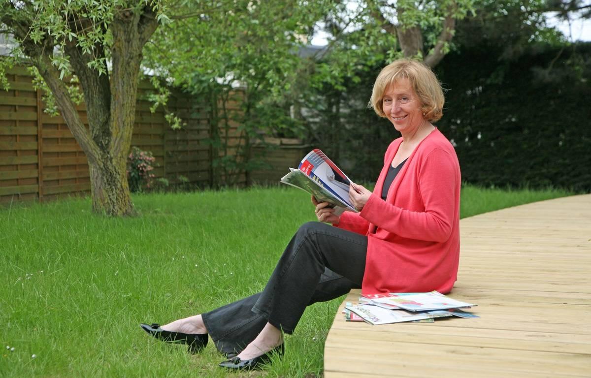 Muriel Pénicaud, dans sa maison du Crotoy (Somme), en 2012 – Jean-Claude Francolon/SIPA