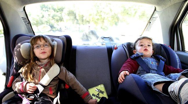 S curit routi re deux enfants sur trois sont mal for Siege auto enfant