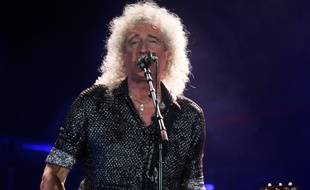 L'artiste Brian May, du groupe Queen