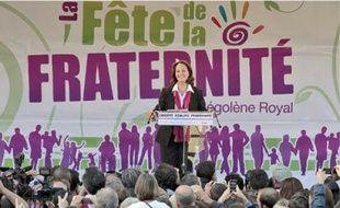 L'ancienne candidate à la présidentielle a prononcé son discours devant 2500 personnes.