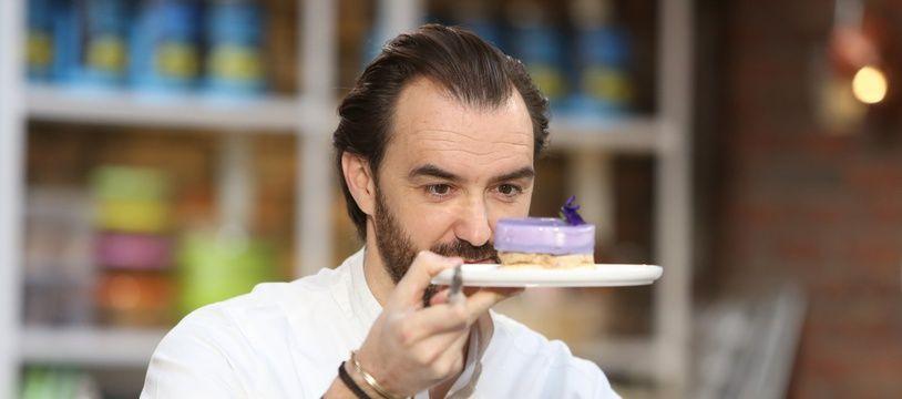 Cyril Lignac dans la saison 2 des «Rois du gâteau».