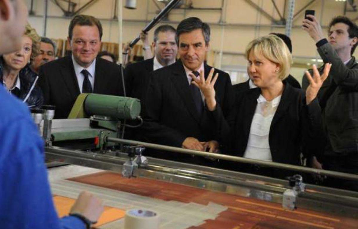 François Fillon, venu soutenir Nadine Morano à Toul, le 13 juin 2012. – POL EMILE/SIPA