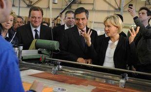 François Fillon, venu soutenir Nadine Morano à Toul, le 13 juin 2012.
