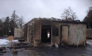 La ferme de Dany Moureaux dans le Doubs a été ravagée par les flammes le 28 février dernier