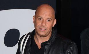 L'acteur Vin Diesel à l'avant-première de The Fate Of The Furious à New York