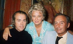 Pierre Barillet, à droite.
