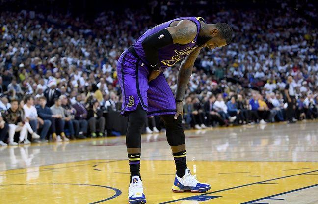 NBA: Les Lakers humilient Golden State Warrior mais perdent Lebron James sur blessure