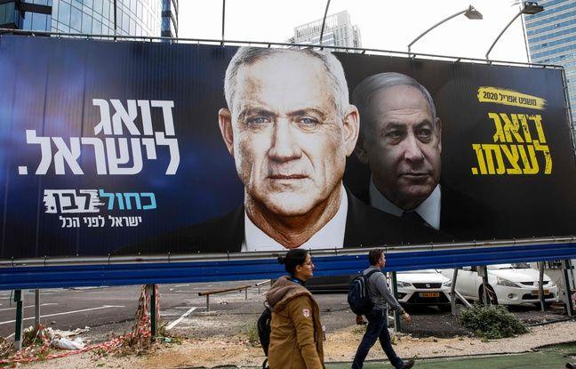 Israël: Benny Gantz, rival de Benjamin Netanyahu, chargé de former un gouvernement ce lundi