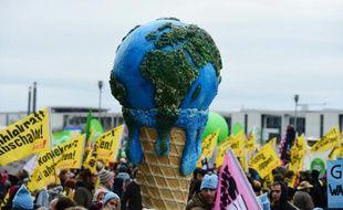 Une marche pour le climat à Berlin le 29 novembre 2015