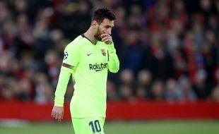 Messi n'a rien pu faire pour empêcher le miracle.
