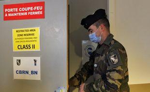 L'exercice militaire Citadel Kleber 2020 à Lille.