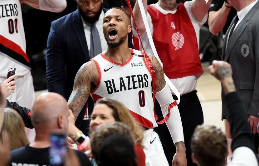 VIDEO. NBA: Non mais c'était quoi ce «buzzer-beater» de maboule de Damian Lillard pour qualifier Portland?