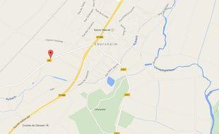 Ebersheim, Google Maps