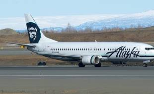 Un avion de la compagnie Alaska Airlines (illustration).