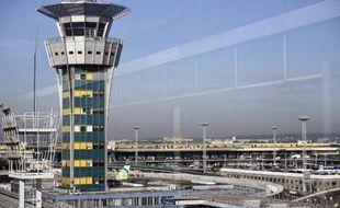L'aéroport d'Orly près de Paris