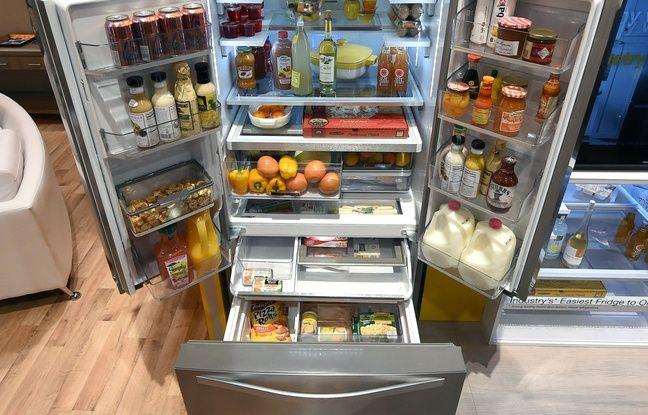 Illustration d'un réfrigérateur.