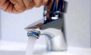 Illustration de l'eau du robinet.