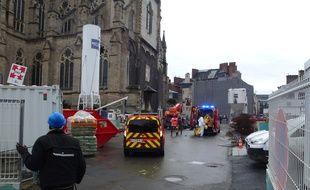 L'accident s'est déroulé ce lundi matin vers 10h30 à la station Sainte-Anne.