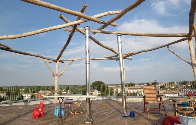 A Bègles, le 22 septembre 2016, la Ruche, premier habitat participatif de Gironde, a été inauguré.