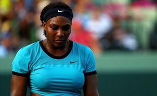 Serena Williams le 26 mars 2016 à Key Biscayne.