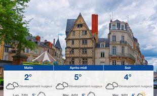 Météo Angers: Prévisions du dimanche 6 janvier 2019