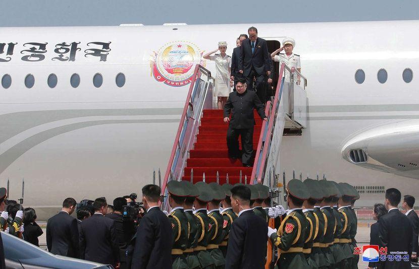 """Résultat de recherche d'images pour """"avion présidentiel kim jong"""""""