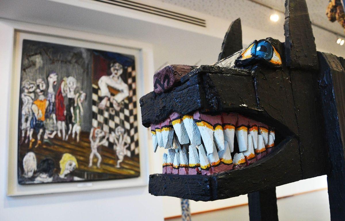Le musée d'art brut de Montpellier dispose de quelque 2500 oeuvres, dont 800 sont exposées. – N. Bonzom / Maxele Presse