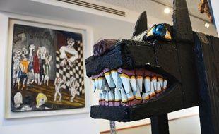 Le musée d'art brut de Montpellier dispose de quelque 2500 oeuvres, dont 800 sont exposées.