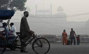 New Delhi, le 10 novembre 2017, où la pollution fait rage.