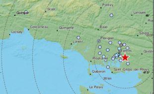 Plusieurs secousses sismiques ont été ressenties à Vannes dans la nuit du 17 au 18 février 2021.