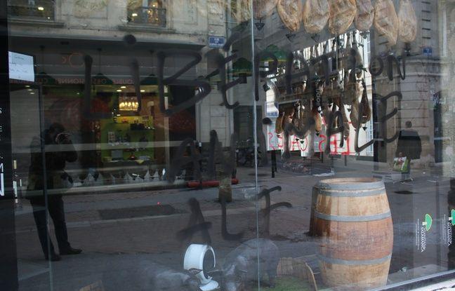 Le Front de Libération des Animaux s'attaque aux boucheries et charcuteries à Bordeaux