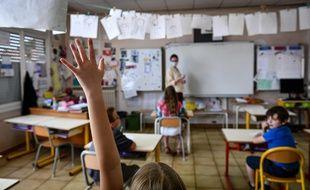 A l'école Jules Ferry de Pessac en mai 2020.