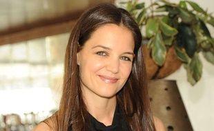 Katie Holmes photographiée à West Hollywood le 14 mars 2012.