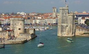 Vue du vieux port de la Rochelle