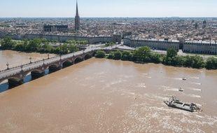 Site d'expérimentation d'hydroliennes fluviales Seeneoh à Bordeaux