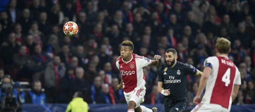 Benzema inscrit un but pour les Merengue à l' Ajax (1-0)
