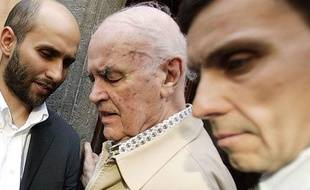 Erich Priebke, ancien criminel nazi, en juin 2007.