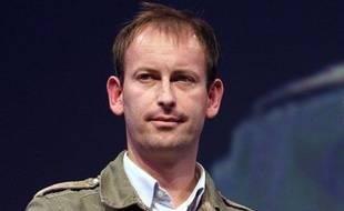 Gilles Jacquier à Bayeux, le 9 octobre 2010.