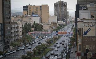 La capitale iranienne Téhéran, le 25 avril 2020 (illustration).