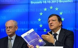 """Les dirigeants de l'Union européenne ont trouvé un accord jeudi soir pour une mise en oeuvre """"graduelle"""" de la supervision bancaire dans la zone euro en 2013, a annoncé un porte-parole de la Commission."""