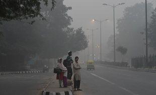 Un nuage de pollution est tombé sur New Delhi