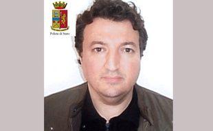 Photographie de Djamal Eddine Ouali publiée par la police italienne le 27 mars 2016.