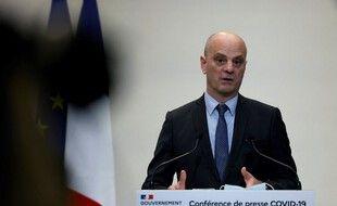 Jean-Michel Blanquer, le 14 janvier 2021 à Paris (illustration).