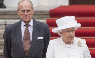 Le prince Philip et la reine Elizabeth II