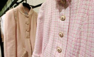 Une boutique Chanel à Bloomingdale's le 24 janvier 2013 à New York
