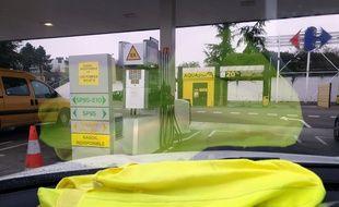 Illsutration de l'opération des «gilets jaunes», prévue le 17 novembre 2018.