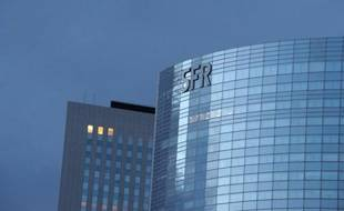 La tour SFR à La Défense, près de Paris