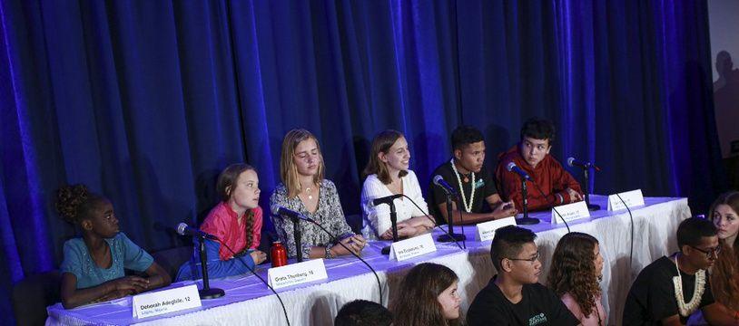 Seize jeunes, dont Greta Thunberg, ont porté plainte contre cinq pays, dont la France, pour non-respect de la convention de l'ONU sur les droits de l'enfant.